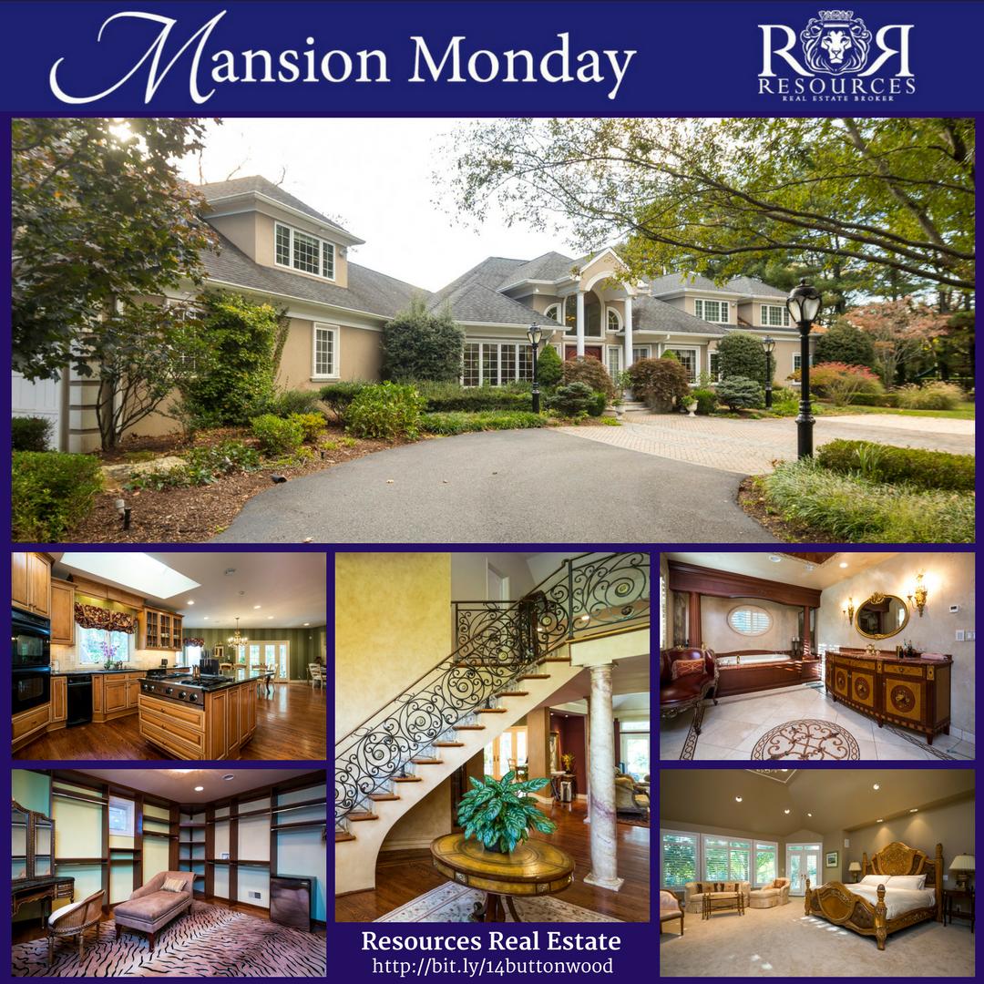 7000+ sf waterfront Rumson NJ Mansion