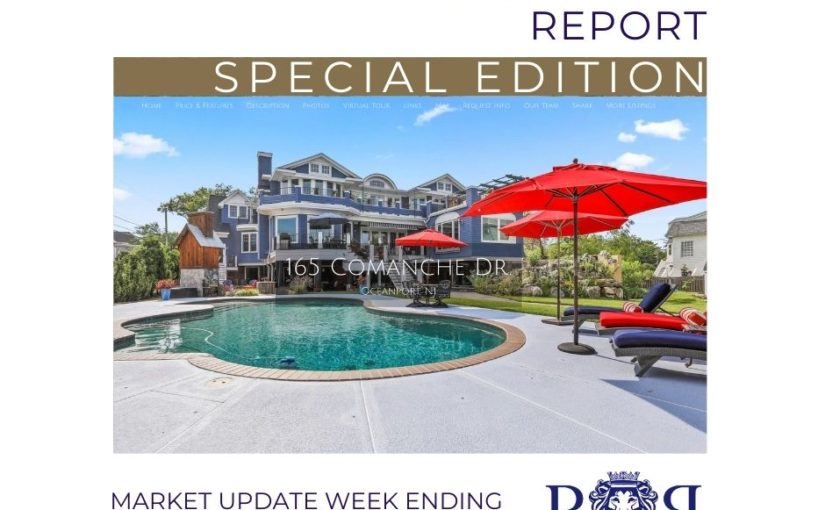 Monmouth County Real Estate Weekly Market Update – August 2 from Resources Real Estate